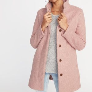 NWT Old Navy textured Boucle coat size Large